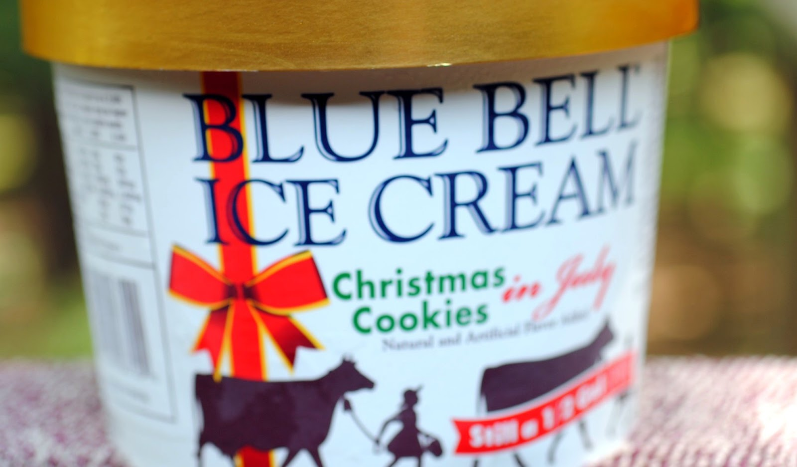 food and ice cream recipes review blue bell christmas