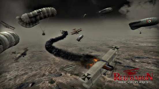 Red Baron War of Planes Mod Apk