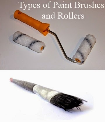 Explaining Types Of Paint Brushes And Rollers