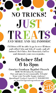 Greater Gresham Baptist Church Halloween Event