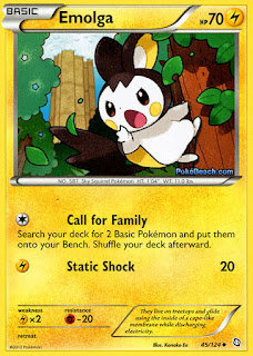 Emolga Dragons Exalted Pokemon Card