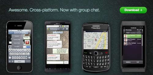 whatsapp messenger להורדה ישירה חינם