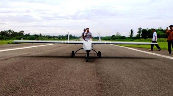 LSU-05 (Lapan Surveillance Unmanned Aerial Vehicle 05). ZonaAero