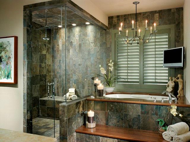 Simplifying Remodeling: Shower Lights Bathe Bathrooms in Brightness