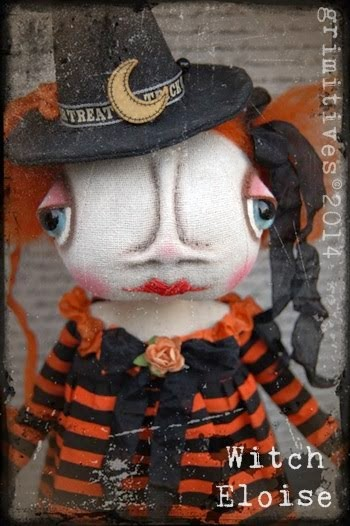 Witch Eloise...she likes to Trick or Treat in November!!