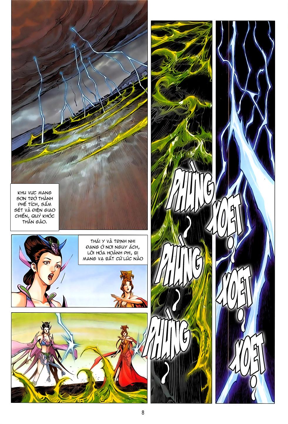 Chiến Phổ chap 19 - Trang 8