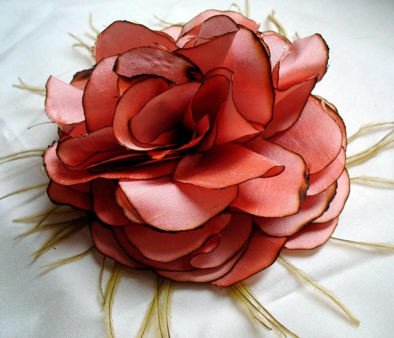 Цветы из ткани своими руками картинки