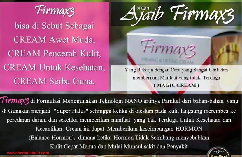 FIRMAX3 - SEMUA MASALAH KULIT BERES
