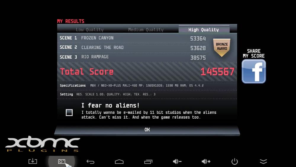 Benchmarks ANOMALY 2 MINIX NEO X8 PLUS