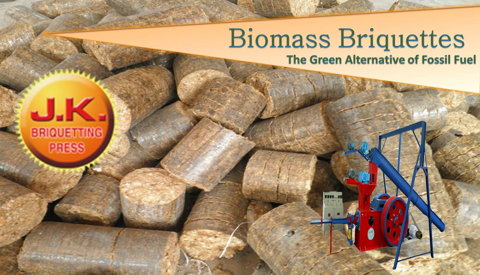 Biomass Briquettes Making Machines, Briquetting Plant manufacturer