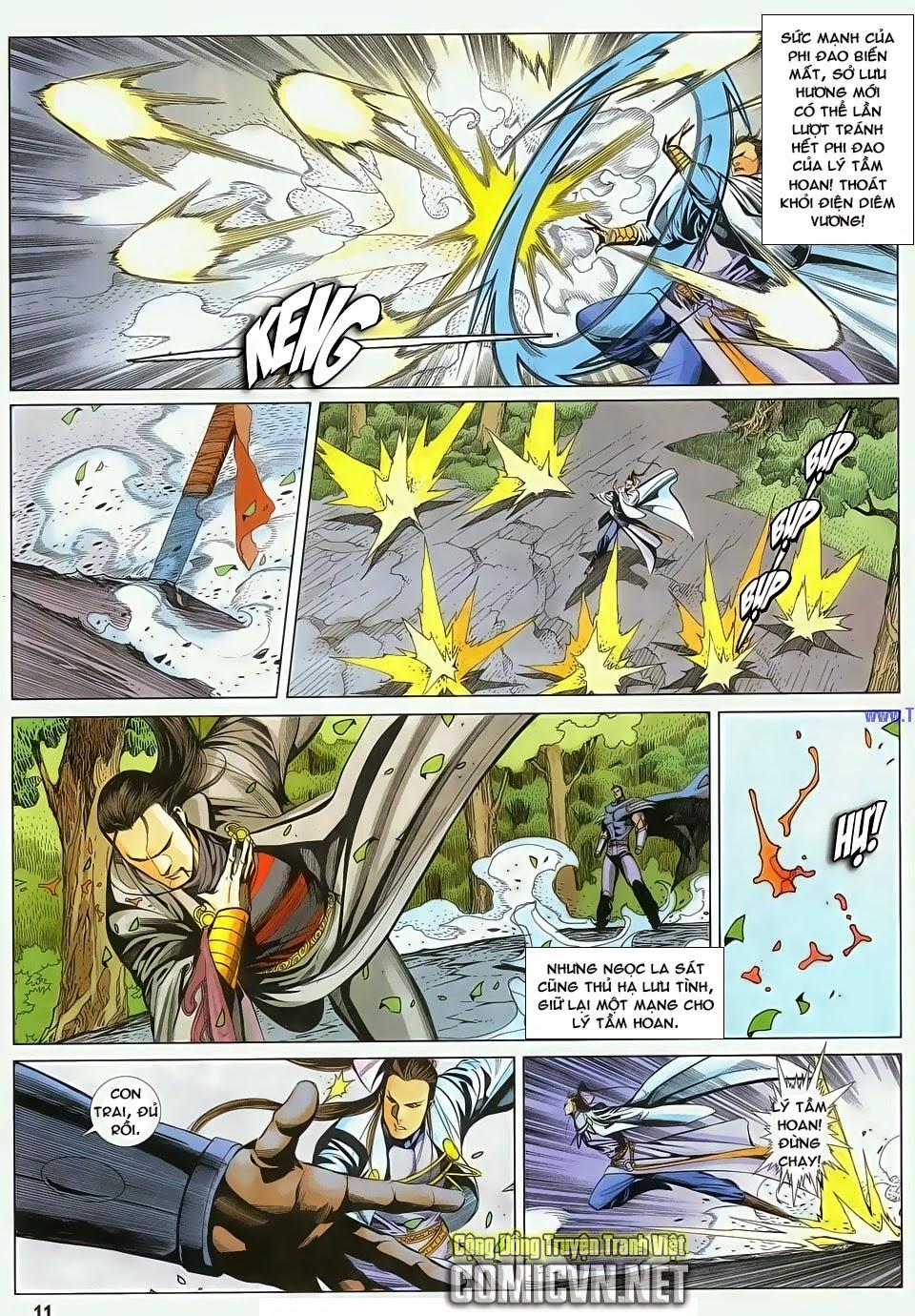 Cổ Long Quần Hiệp Truyện chap 84 Trang 11 - Mangak.info