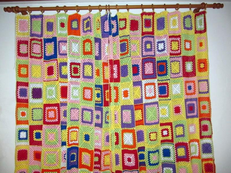Vorhang Häkeln | My blog