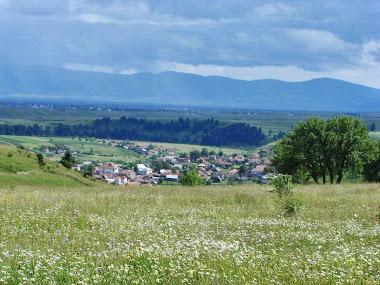 Vedere de pe Dealul Morii