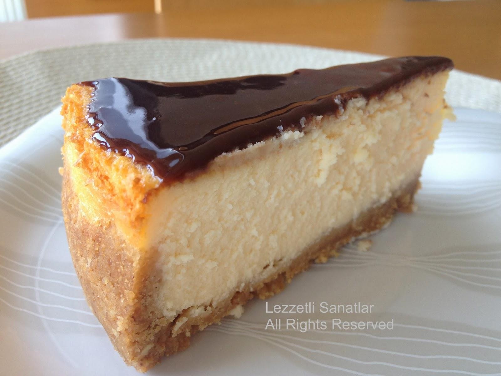 Nutellalı Bitter Çikolatalı Cheesecake