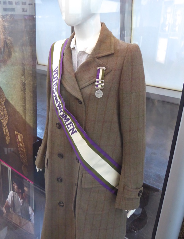 Edith Ellyn Suffragette movie costume detail