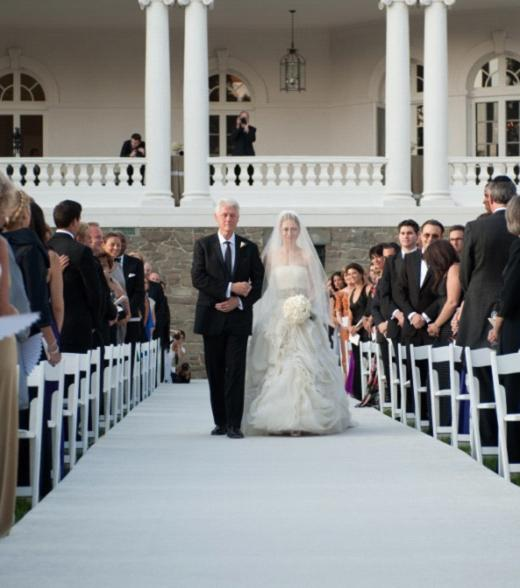 Chelsea Clinton Wedding Gown: Wedding Fashion: Vera Wang And Her Design