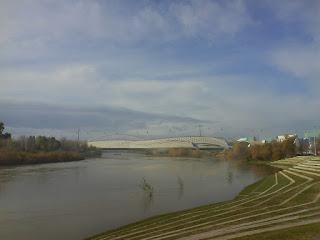 pabellon puente Ebro Zaragoza Zaha Hadid gladiolo