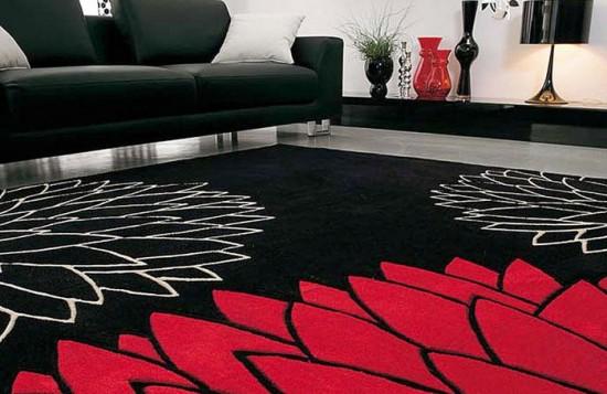 Decoracao De Sala Vermelho E Preto ~  Parede Tapetes  12 opções diferentes para decorar a sala de estar