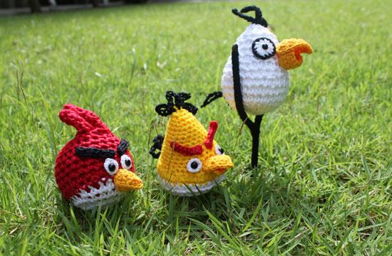 Angry Birds крючком