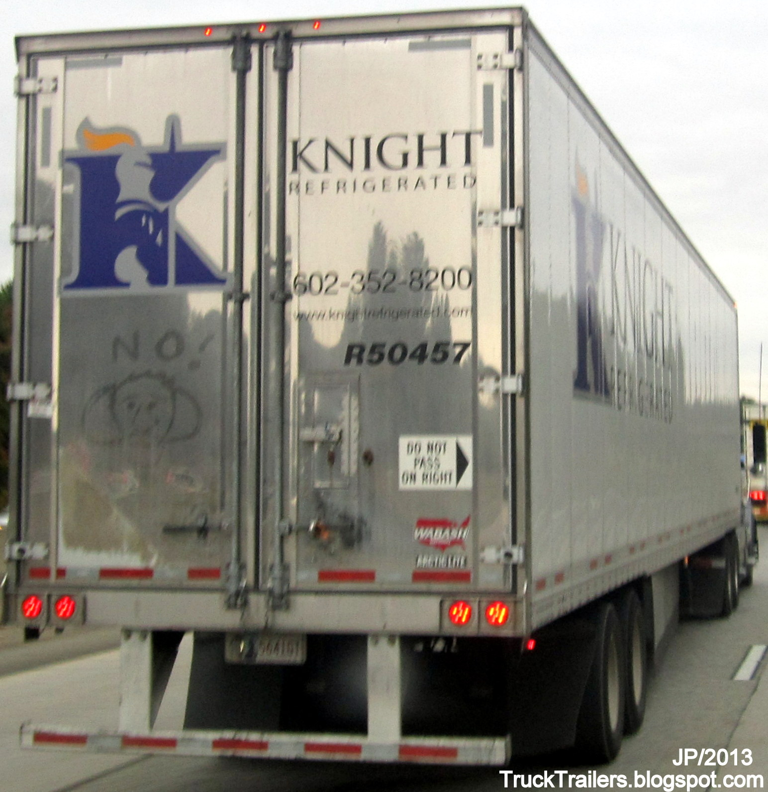 Knight refrigerated wabash trailer artic lite knight refrigerated trucking company memphis division cold food olive branch ms