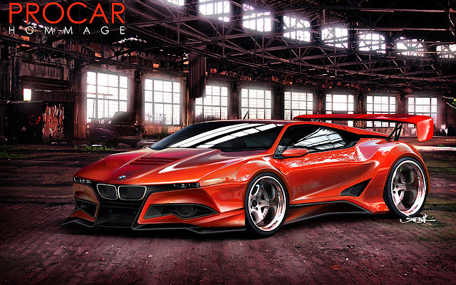 Cool cars BMW concept car