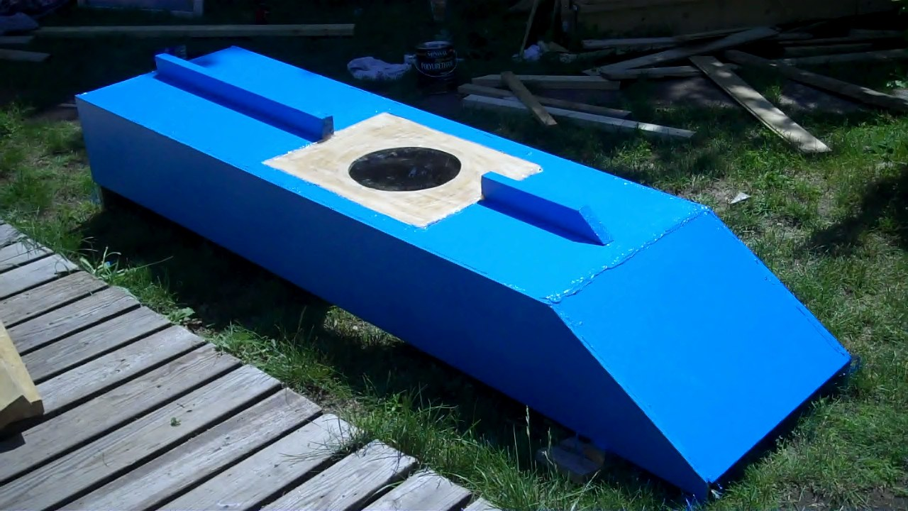 "Relaxshacks.com: ""The Blue Crab""- A micro, plywood, skiff ..."