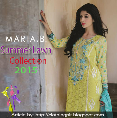 Maria B Summer Designs Lawn collection 2015