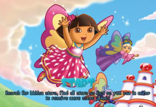 juego las estrellas de Dora