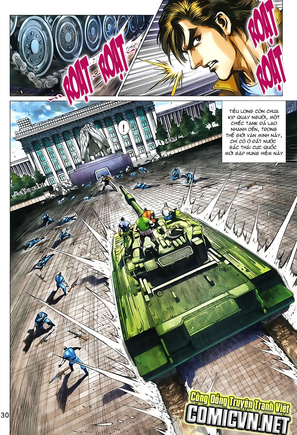 Tân Tác Long Hổ Môn chap 792 Trang 31 - Mangak.info