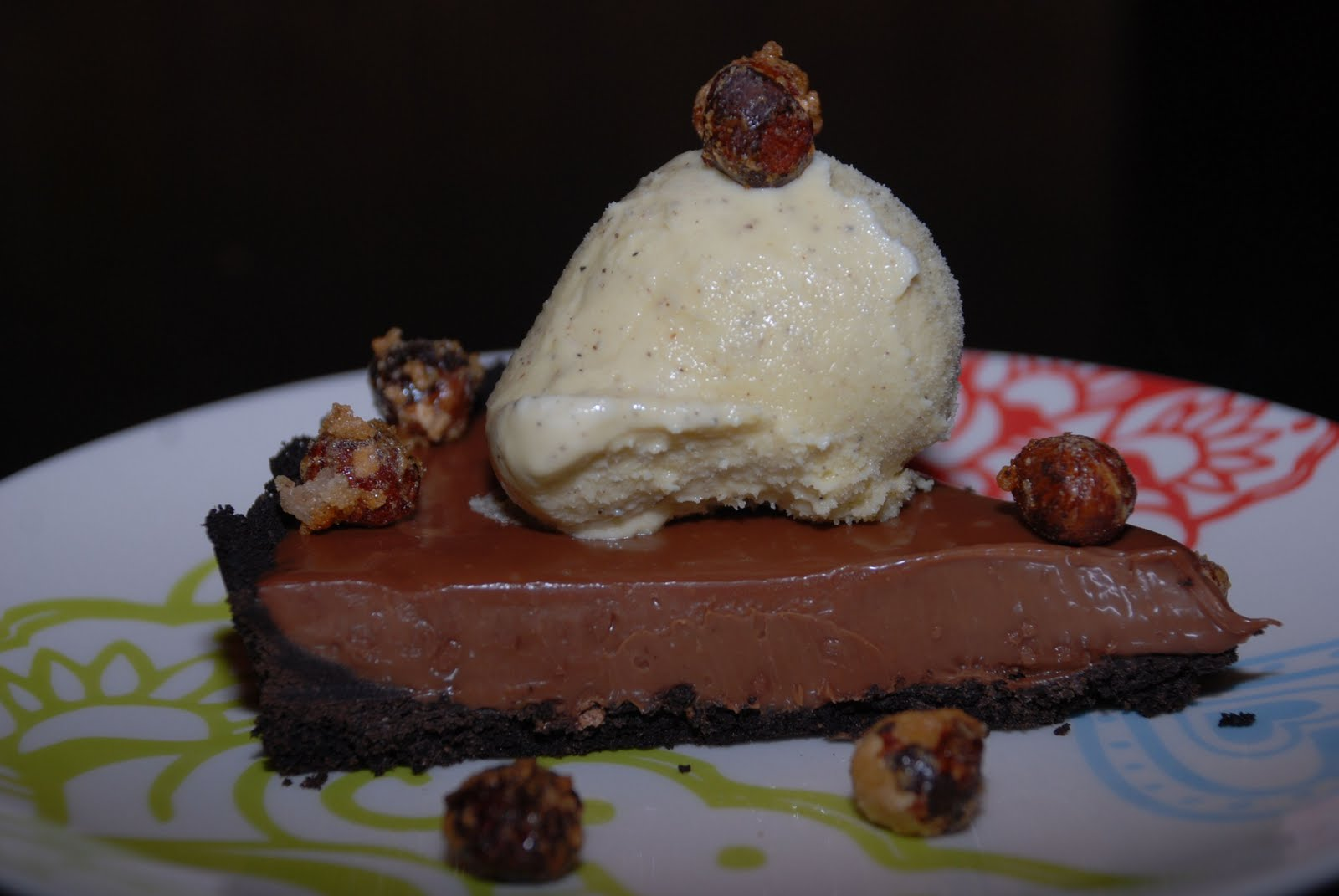 Tomatoes on the Vine: Double Chocolate Tart With Black ...