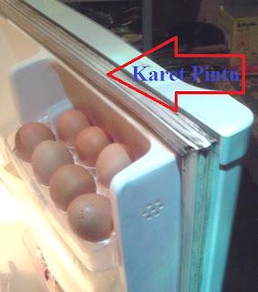 Fungsi Karet Pintu Pada Kulkas, Freezer dan Showcase