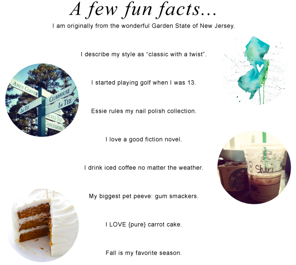 Fun Facts about Sheri Ann!