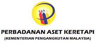 Jawatan Kerja Kosong Perbadanan Aset Keretapi (RAC) logo