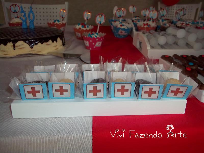 Vivian Artes Papelaria Personalizada ANIVERSARIO TEMÁTICO ENFERMAGEM -> Decoração Festa Enfermeiro
