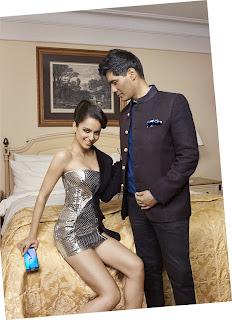 Kangana Ranaut Models for Samsung S6 Edge Mobile Phone in Lovely Short Shining Dress