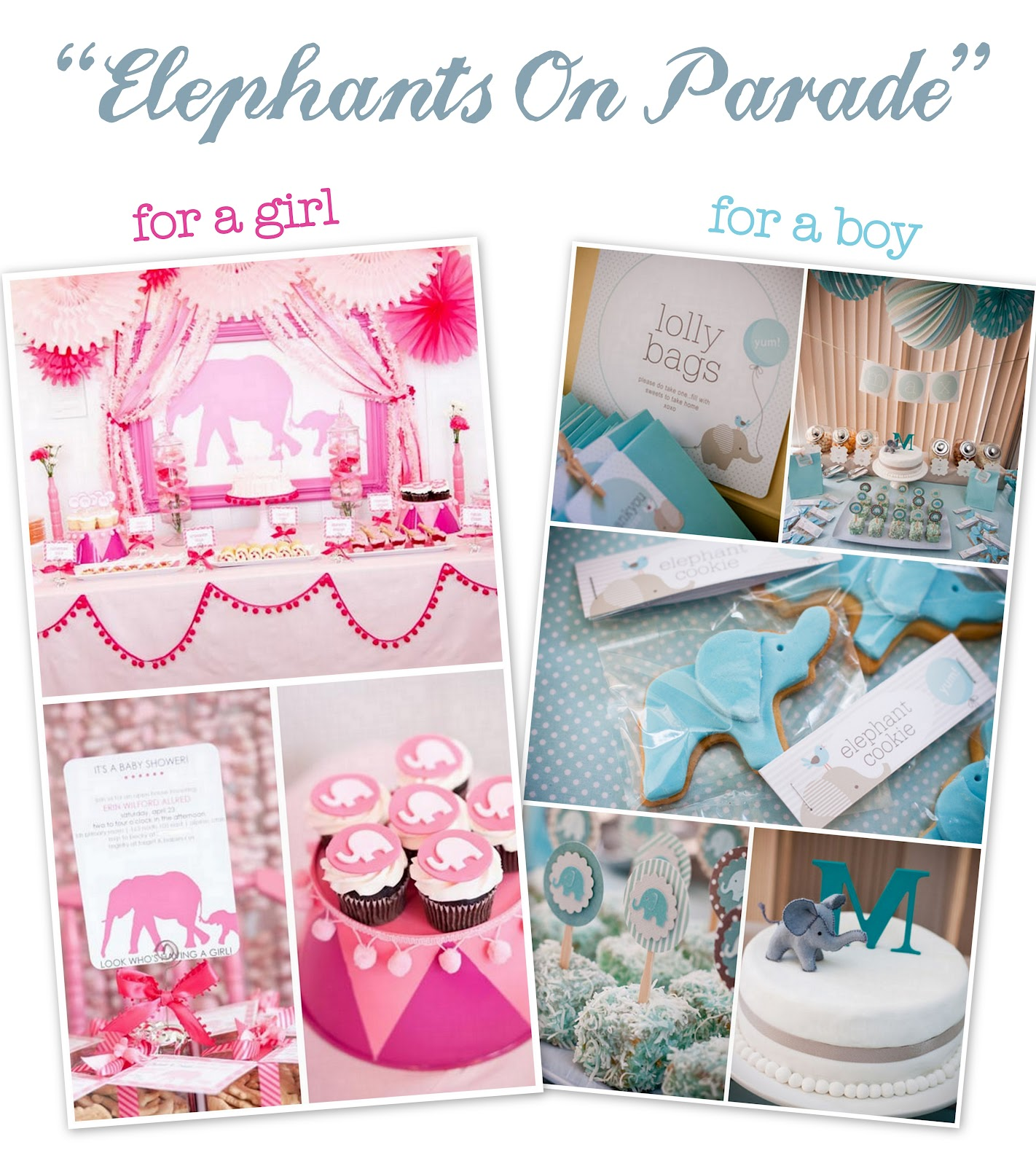 Elephant Baby Shower Ideas for Boys 1422 x 1600