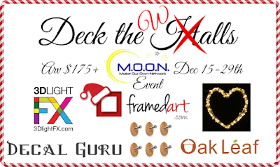 Enter the Deck the Halls Giveaway. Ends 12/29