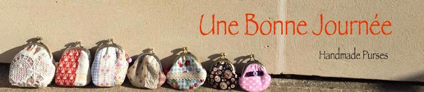 UNE BONNE JOURNEE Handmade Blog