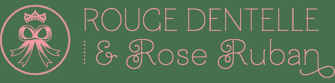 Rouge Dentelle & Rose Ruban