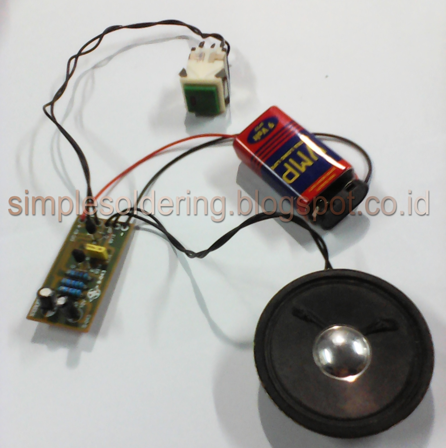 Simple Experiment And Electronics Hobby: 2015