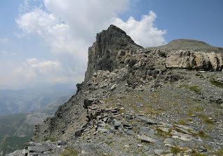 Cime du Mul seen from Col de la Cavale