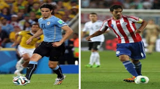 Uruguay vs Paraguay, Copa América 2015
