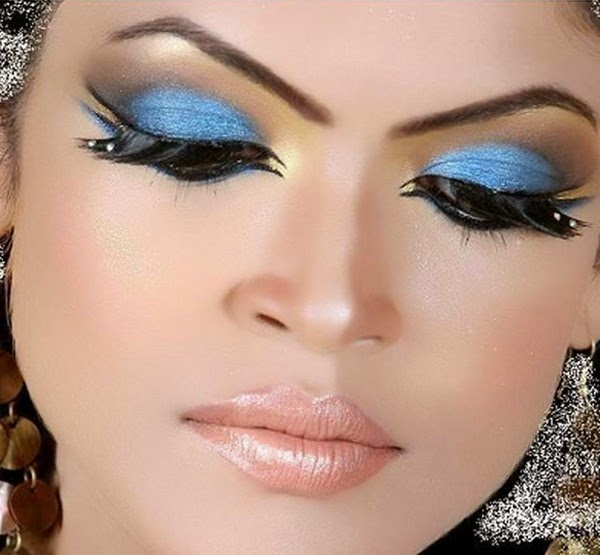 Best Shimmery Eyes Makeup Collection 2014 For Women