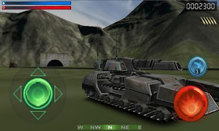 Screenshots of the Tank Recon 3D for Android tablet, phone.