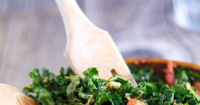 The Iron You: Shredded Kale Salad with Pancetta and Hard ...