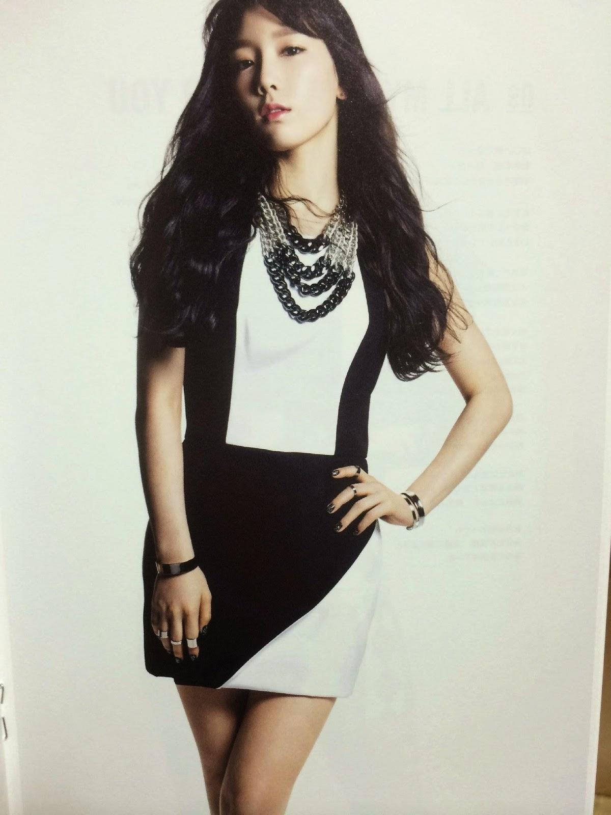 SNSD Taeyeon (태연; テヨン) Girls Generation The Best Scan Photos 3