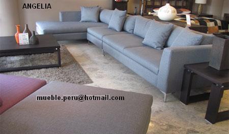 fotos de muebles de sala esquineros - Sillón Esquinero Beige Salas Muebles Siman