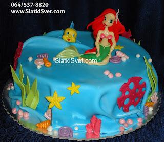 Torta Sirena