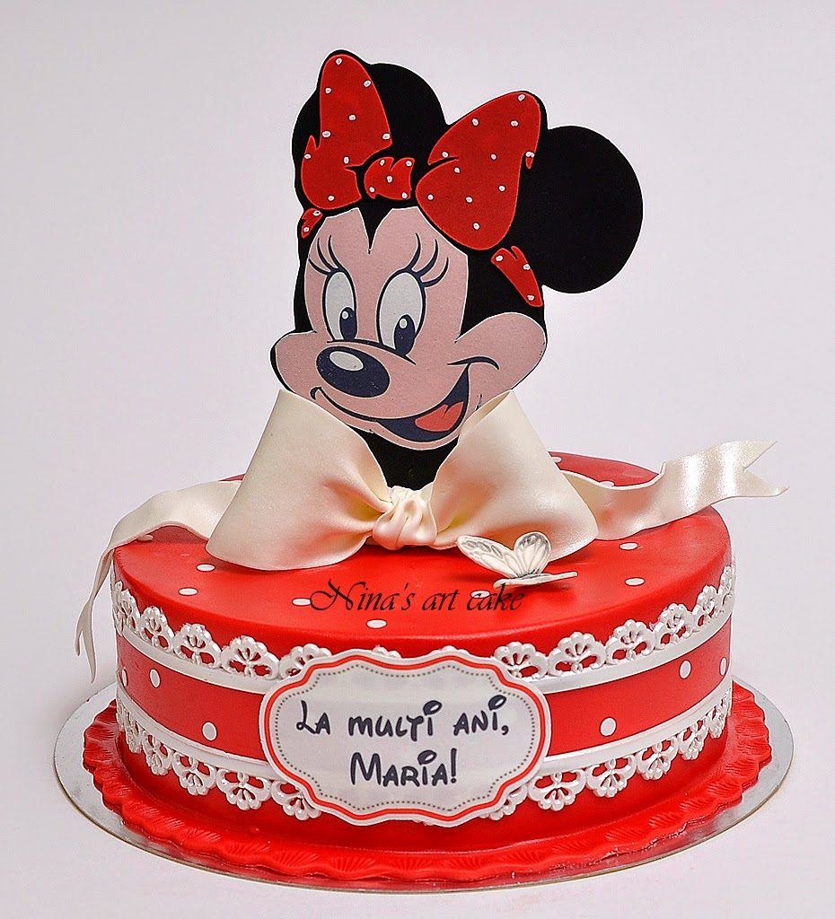 "Tort ""Minnie Mouse"" pentru Maria"