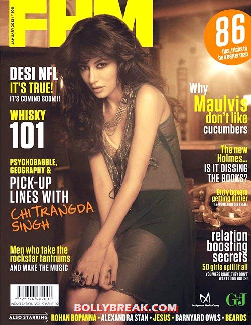 Chitrangada Singh - Sexiest India covergirls of 2012